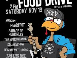 thanksgiving 2017 rock food drive san diego
