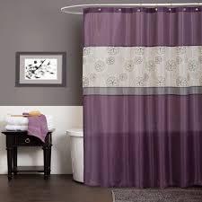 Brown Ruffle Shower Curtain by Purple Ruffle Shower Curtain Best 25 Ruffle Shower Curtains Ideas