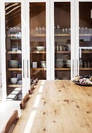 glass shelves for china cabinet cottage dining room with built in china cabinet with glass shelves