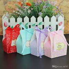 wedding favors wholesale colorful small cardboard wedding favors wholesale party gift box