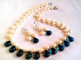 pearls necklace real images Necklace set hyderabadi real pearl elegant pearls jewellery jpeg