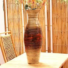 Large Wood Floor Vase Large Decorative Floor Vases Wayfair