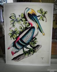 pelican tattoo photo num 20516