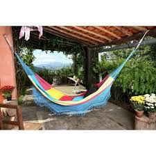 home decoration appealing blue outdoor hammock bed ideas