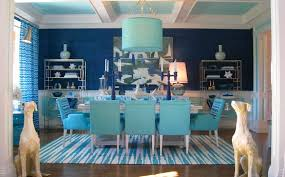 light blue dining set and blue paint color for dining room home