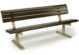 metal frame bench park series pvc coated park bench metal park benches belson