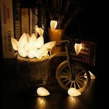 120v 25 led c9 decorative lights warm white brizled