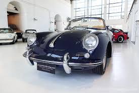 navy blue porsche 2017 1965 porsche 356 c cabriolet navy classic throttle shop
