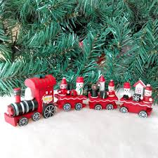 christmas train set holiday winter santa u0027s express vintage look