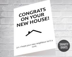 congrats on new card new home card etsy