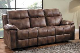 Double Recliner Homelegance Brooklyn Heights Double Recliner Sofa Polished