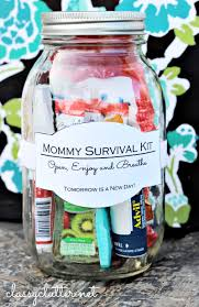 Home Decor Gifts For Mom Mommy Survival Kit In A Jar Survival Kits Mascaras And Survival
