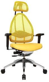 chaise bureau jaune fauteuil de bureau pour le confort du dos fauteuil pour le dos