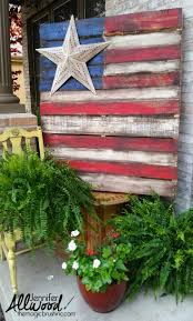 Flag With Four Red Stars Best 25 American Flag Pallet Ideas On Pinterest Pallet Flag