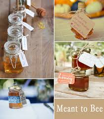 honey wedding favors 10 great fall wedding favors for guests 2014