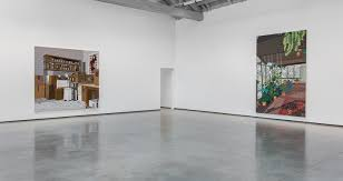 jonas wood u201cinteriors and landscapes u201d at david kordansky gallery