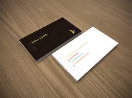 free minimal business card template crazyleaf design blog