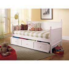 casey ii wood daybed with ball finials and roll out trundle drawer