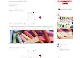ladybug blog template teacher blogger template