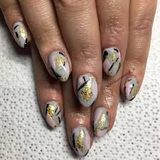 abstract nail art nailpro
