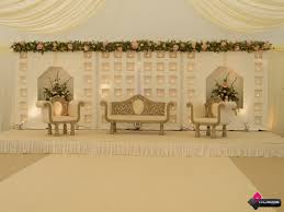 wedding backdrop on stage wedding stage different types of back draping ideas 18
