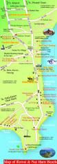 Phuket Map Rawai And Nai Harn Map Of Roads Soi U0027s And Main Areas Of Rawai Nai