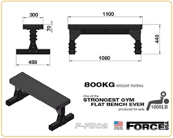 Flat Bench For Sale Gym And Fitness Force Usa Heavy Duty Commercial Flat Bench U2013 Gym