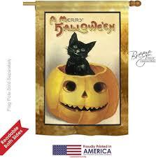 merry halloween house flag u0026 more garden flags at flagsforyou com