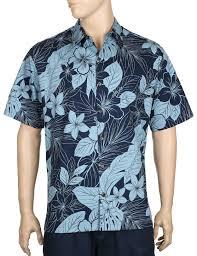 tropical jungle premium aloha shirt shaka time hawaii clothing store