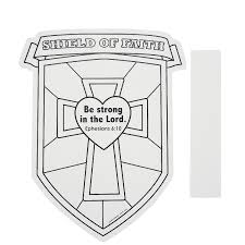 elegant shield of faith coloring page 18 with additional coloring