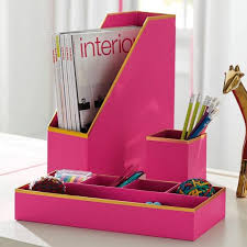 Girly Desk Accessories Awesome Desk Accessories For Of Nod Crate In Decorating