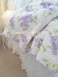 shabby chic quilts full queen bedding romantic homes french