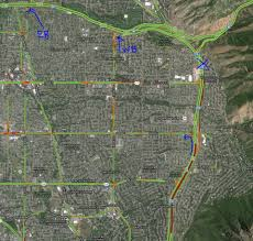 La Traffic Map Pedestrian Killed On I 215 Identified Ksl Com