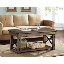 altra furniture wildwood rustic gray coffee table 5056096pcom