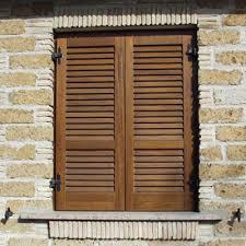 persiana in legno persiana in legno doppia spiovenza pm serramenti