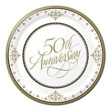 anniversary plates 50th anniversary 50th anniversary party ideas on a budget 50th anniversary