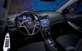 hyundai accent 2012 sedan 2012 hyundai accent se test motor trend