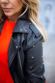 red leather motorcycle jacket lady in red u0026 leather u0026 denim u2014 native in nashville