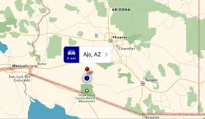 Chandler Arizona Map by Blue Roads Journal Copper The Story Of Ajo Arizona Part 1
