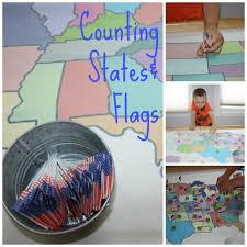 Fifty States Map United States Of America It U0027s Flag U0026 States