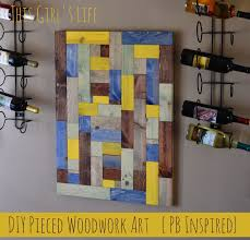 pottery barn inspired diy pieced wood uncommon designs