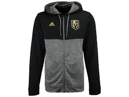 vegas golden knights adidas nhl men u0027s two tone full zip hoodie