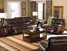 Leather Reclining Sofa Set Reclining Sofa Set Ebay