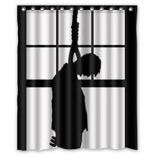 Black Bathroom Curtains 21 Horror Inspired Shower Curtains To Up Your Home Riot Daily