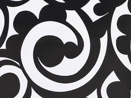 black and white wrapping paper black white bold scroll damask gift wrapping paper