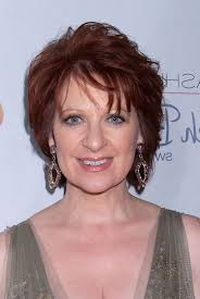 red hair for over 50 caroline manzo short red wavy haircut for women over 50 styles