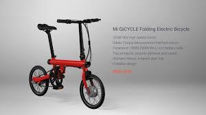 This Folding E Bike Wants by Xiaomi Electric Bicycle Mi Qicycle U2014 Applite
