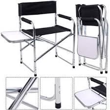 Quest Traveller Directors Chair And Side Table Directors Chair With Side Table Ebay