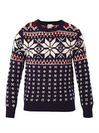 snowflake sweater lyst moncler snowflake knit sweater in blue for