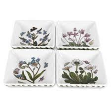portmeirion botanic garden 3 inch square mini dishes